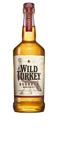 Wild Turkey 81 Proof Kentucky Straight Bourbon, 1er Pack (1 x 700 ml)