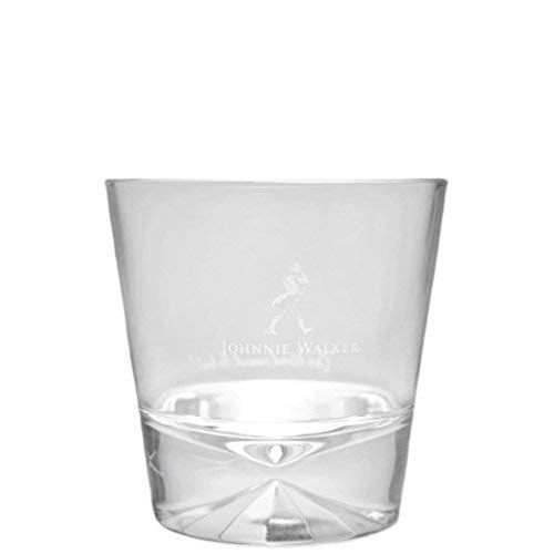 Johnnie Walker Diamond Base Rocks Glass - 2018 Edition -Raised Logo