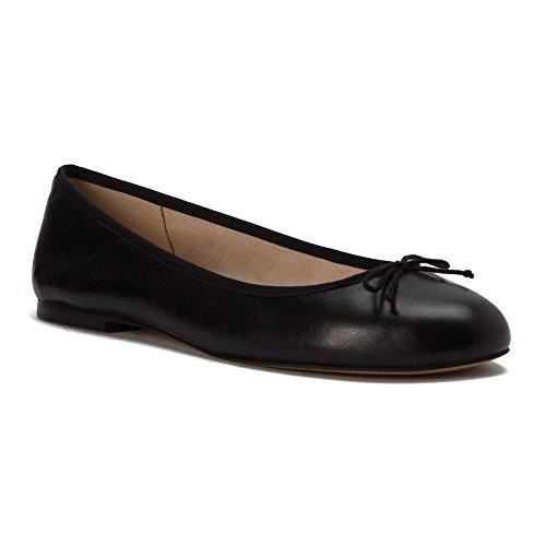 Sam Edelman Mujeres Finley Ballet Flats Black Nappa Leather