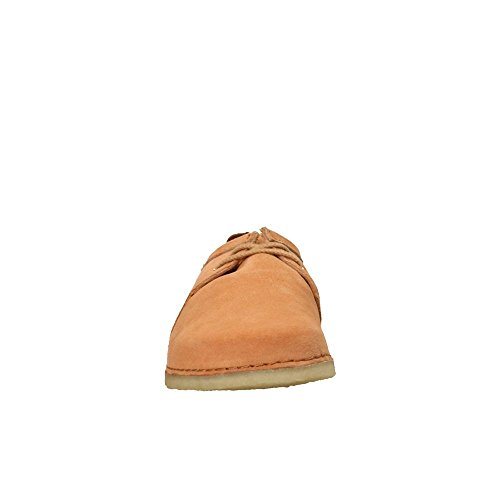 26131153 Uomo Stringate Clarks Shoes Originals Suede Ashton Sandstone wxqXwUg