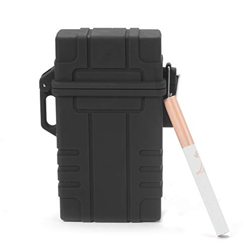 Waterproof Cigarette Case with Electric Lighter