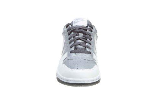Nike Heren Grote Lage Basketbalschoenen Wolf Grijs / Wit-donker Grijs