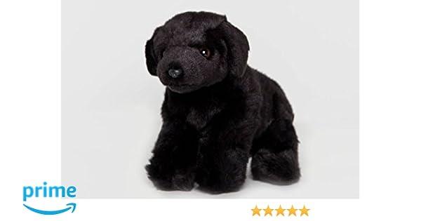 Amazon Com Floppy Black Lab Stuffed Plush Animal Cabin Critters