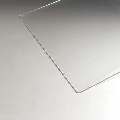 アクリル板 (押出し) 透明 - 板厚 (3mm) 570mm × 440mm