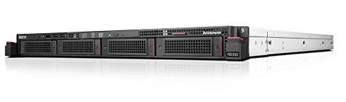 Lenovo ThinkServer RD350 70QK0010UX 1U Rack Server - 1 x Intel Xeon E5-2640 v4 Deca-core (10 Core) 2.40 GHz, 16GB RAM, 4 x 3.5'' Disk Bays by Lenovo (Image #1)