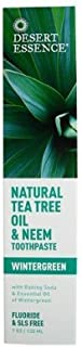 product image for Tea Tree Oil Toothpaste with Neem-130 ml Brand: Desert Essence