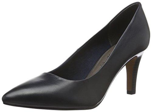 s.Oliver 22432, Zapatos de Tacón para Mujer Azul (NAVY 805)