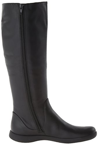 Womens Comet Camper Boots Ankle Schwarz Spiral AYnqwU