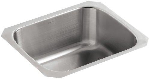 KOHLER K-3184-NA Undertone Undercounter Kitchen Sink, Stainless Steel ()