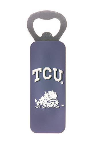 TEXAS CHRISTIAN HORNED FROGS NCAA PVC MAGNETIC BOTTLE OPENER
