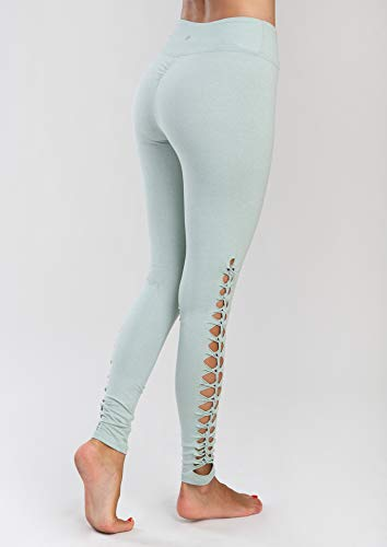 Jala Women's Lotus Legging, Sage, x Small