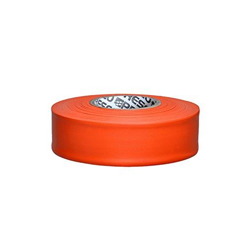 Presco Taffeta Roll Flagging Tape: 1-3/16 in. x 300 ft. (Orange) (Orange Construction Tape)