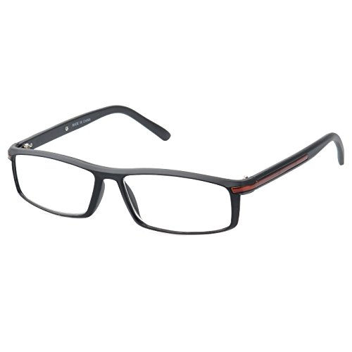 MLC Eyewear ® 'Saxton' Rectangle Reading Glasses +2.00 in - Frames Boots Glasses