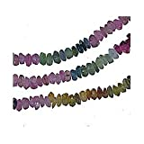 Tourmaline Multi Color Faceted Tiny Rondelle 3mm Bead Strand 14""