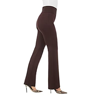 Tall Inseam Boot Cut Coffee TXL at Women's Clothing store