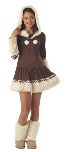 California Costume Collections CC04019-L Tween Polar Princess Eskimo Costume Size Large (Princess Costumes For Teens)