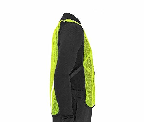 JORESTECH Emergency High visibility safety vest with reflective stripes (50 Vest, Yellow) by JORESTECH  (Image #3)