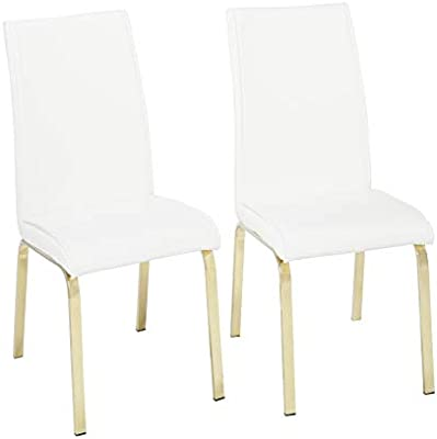 Strange Amazon Com Target Marketing Systems 23118Wht Pr Uptown Bralicious Painted Fabric Chair Ideas Braliciousco