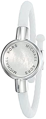 "Michael Kors ""Access Activity Tracker Crosby Silicone Bracelet"