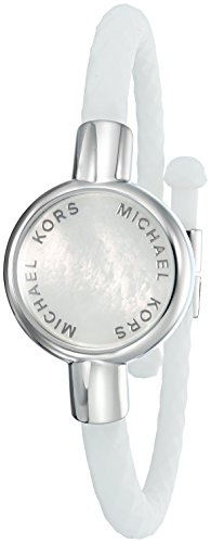 Michael Kors Access Activity Tracker Crosby Silicone Silver Bracelet