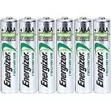 Energizer AAA Rechargeable NiMH Battery 800 mAh 1.2V x six (6) ()