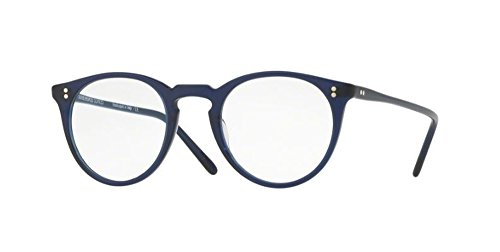 Oliver Peoples - O'Malley - 5183 47 - Eyeglasses (DENIM, - Frames Eyeglass Made American