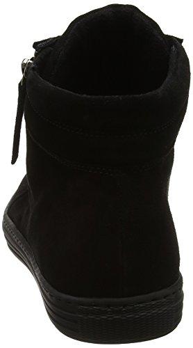 Gabor Shoes Comfort Basic, Zapatos de Cordones Derby para Mujer Negro (Schws.schw/micro)