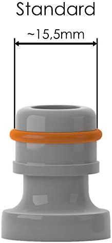 Bradas 2-Arm Kreisregner mit Erdspie/ß Sprinkler Bew/ässerung Rasensprenger Lime LINE LE-6106 4475