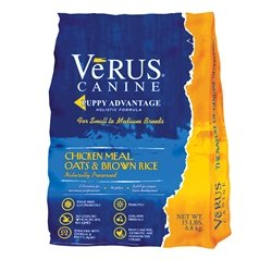 Halloween Chicken Meals (Verus Puppy Advantage Chicken Meal, Oats and Brown Rice Formula Dry Dog Food (30)