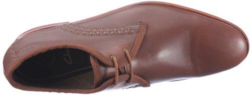 Clarks Filton Park 20349532 Herren Klassische Halbschuhe Braun (Tan Leather)