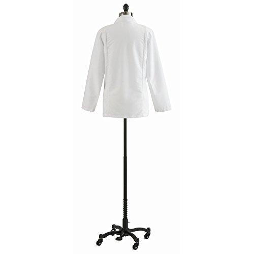 Medline 88018QHW30 Ladies Consultation Coats, 30, White