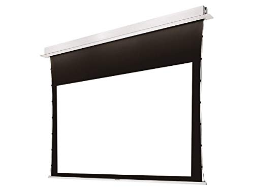 Monoprice Ceiling-Recessed Motorized Projection Screen - 150 Inch ISF, Ultra HD, 4K, 16:9, No Logo