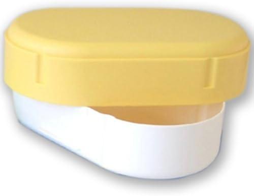 Fiambrera oval Amarillo apto para lavavajillas: Amazon.es: Hogar