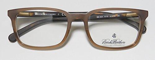 Brooks Brothers - 2031 homme Lt Brown/Matte Dk Tort