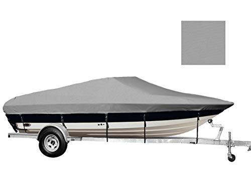 TL-SBU 6.25oz Custom Exact FIT Boat Cover Chris Craft 210 Cuddy Cabin Bow Rails I/O ()