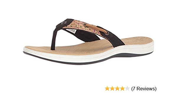4118fefe60cf27 Sperry Women s Seabrook Surf Perf Cork Flat Sandal