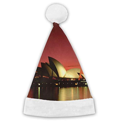 DOROTHY Sydney Opera House Print Halloween Christmas Costume Party Accessory Cap Halloween Holiday Headwear for Men & Women,Boys & Girls, Adult & Child