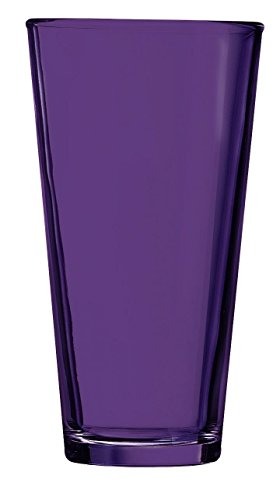 Purple Pint Glass - Additional Colors Available - 16oz Set of 6