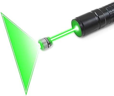 FreeMascot Handheld 532 NM Green Light Focusable Flashlight with