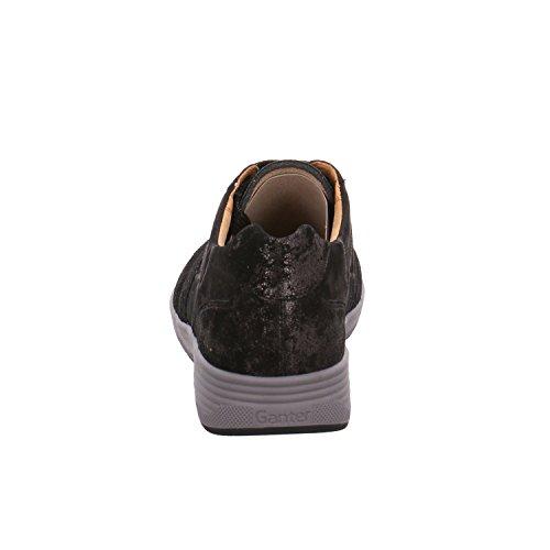 Ganter Mujer de para Zapatos negro 4 de Cordones Piel 0199 208143 z6wzrqOW1