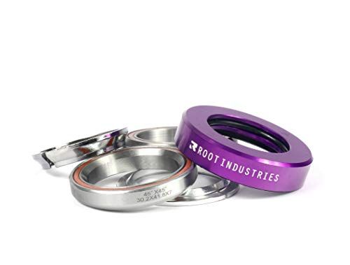 Root Industries AIR Headset - Trick/Stunt Scooter Headset - 1-⅛ Freestyle BMX/Scooter Professional Integrated Headset - Premium Color Options Sealed Fast (Purple)