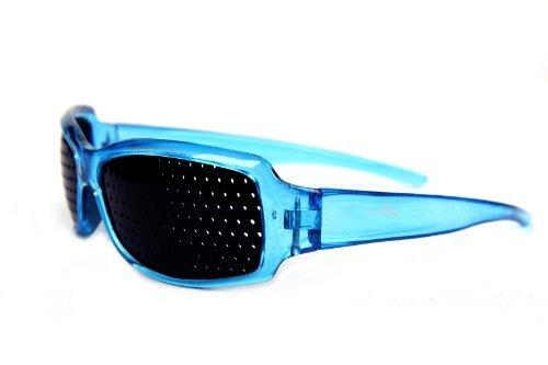 d369d0f8f94 FreshGadgetz Rouge Unisex soin de la vue améliore sténopé yeux lunettes  exercé lunettes Bleu