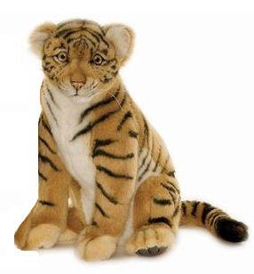 (Hansa Sitting Tiger Cub Plush )