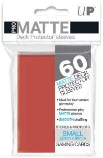 60 ULTRA PRO DECK PROTECTOR SMALL YGO PRO-MATTE CLEAR SLEEVES