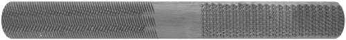 Century Drill and Tool 4060 4-in-1 Half Round Hand File, 8-Inch