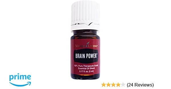 Amazon Com Brain Power 5ml Essential Oil By Young Living Essential