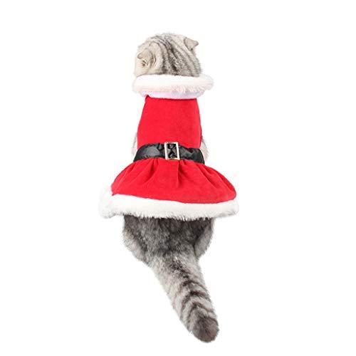 PET CLOTHES Pet Supplies Christmas Pleated Little Princess Dog Clothes