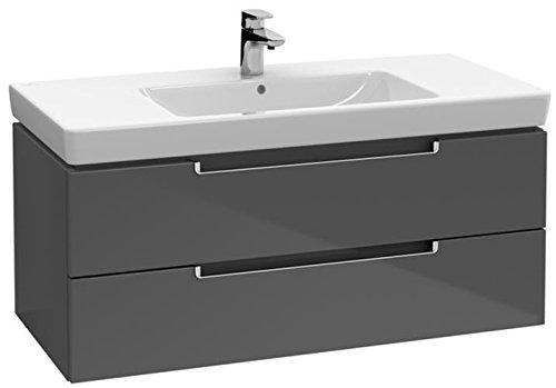 Villeroy & Boch Waschtischunterschrank Subway 2.0 A69010 987x420x449 Glossy Grey, A69010FP