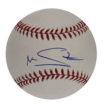 Marcus Stroman Autographed Signed Rawlings Official Major League Baseball - PSA/DNA Certified Authentic - Grandstand BallQube Display Case Included