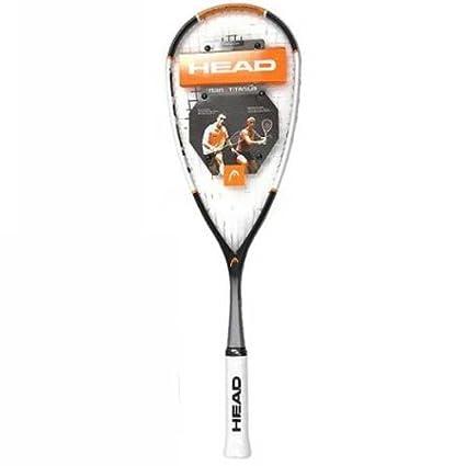 Amazon.com: Head Nano Ti. 120 Pro – Raqueta de squash ...